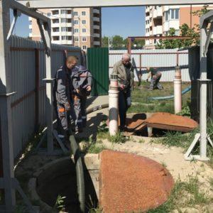 Обслуживание канализационной насосной станции